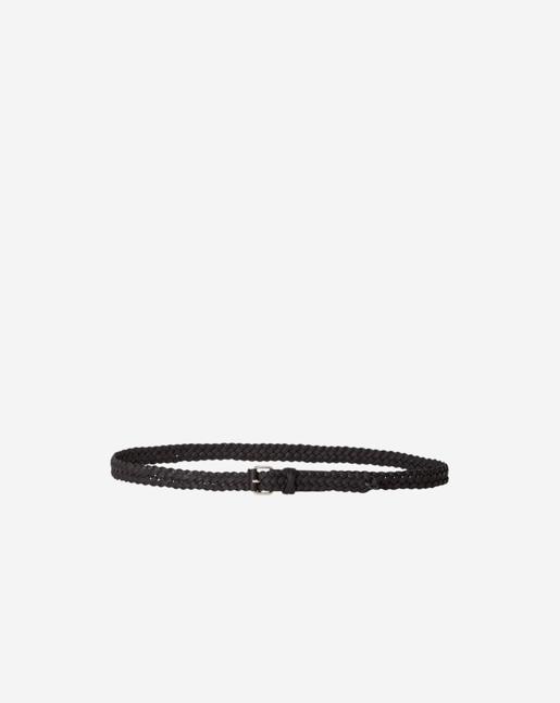 Braided Hip Belt Black