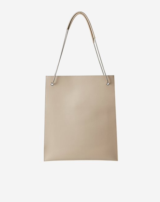 Paper Thin Tote Bag Beige