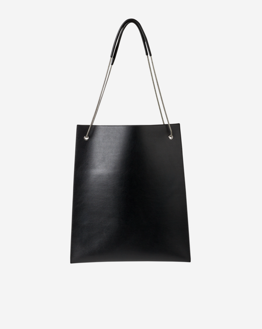 Paper Thin Tote Bag Black