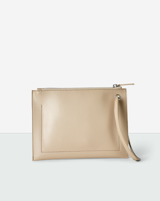 Paper Thin Mini Pouch Beige