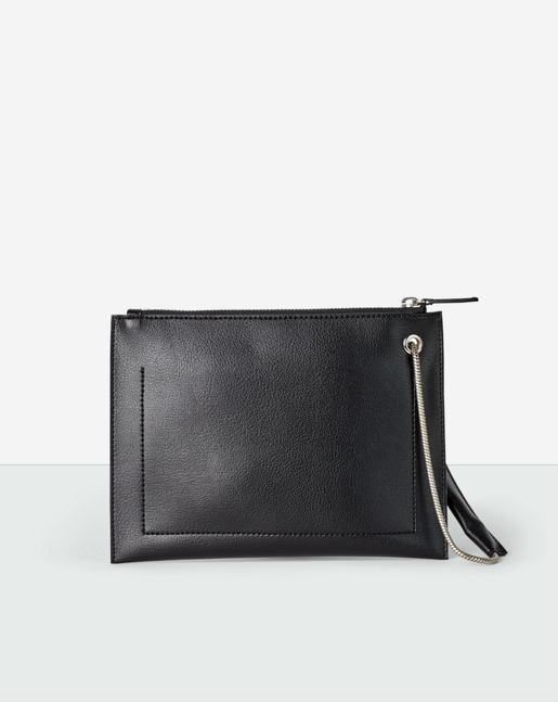 Paper Thin Mini Pouch Black