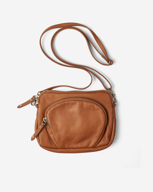 Mini Leather Bag Camel