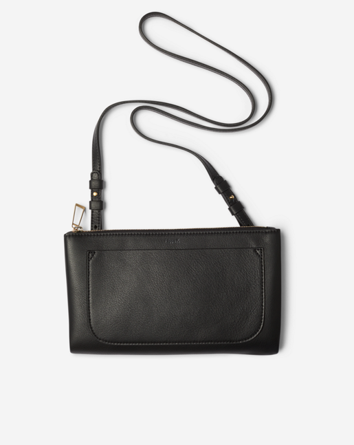Carol Leather Mini Bag Black