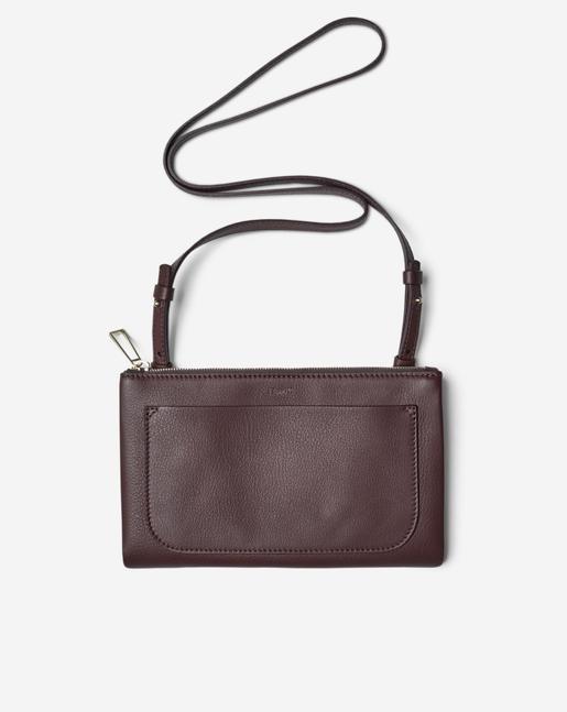 Carol Leather Mini Bag Bordeaux