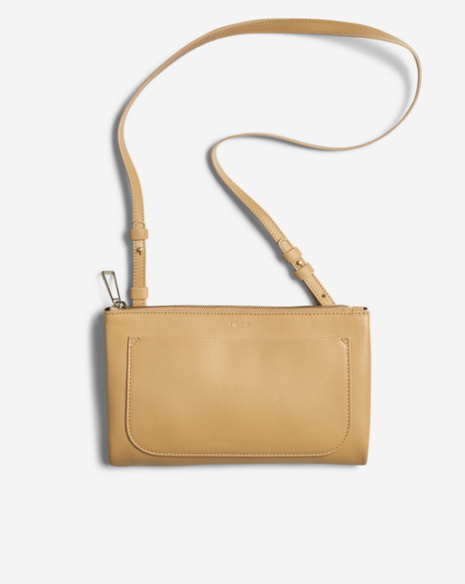 Carol Leather Mini Bag Natural