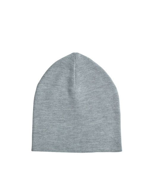 Merino Beenie Light Grey