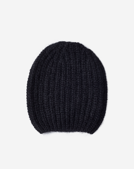Mohair Hat Black