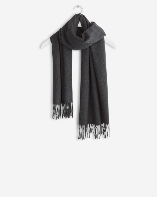 Cashmere Blend Scarf Antracite
