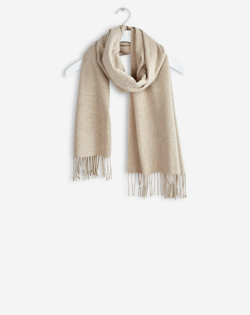 Cashmere Blend Scarf Oyster