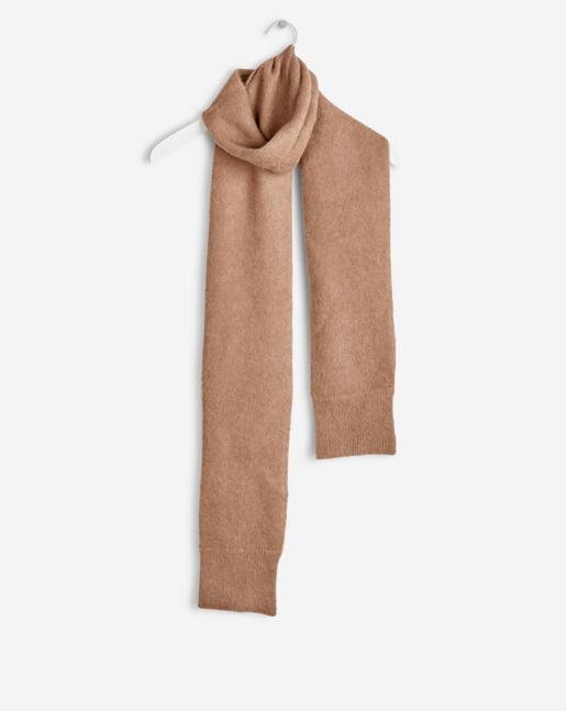 Cozy Thin Sleeve Scarf Nougat