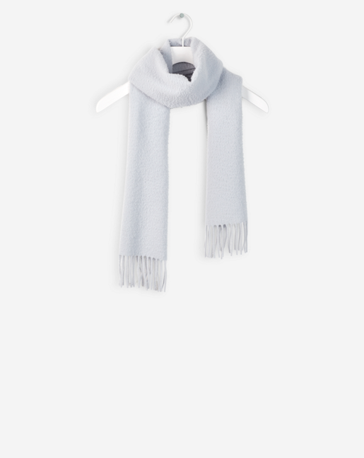 Wool Nep Scarf Arctic