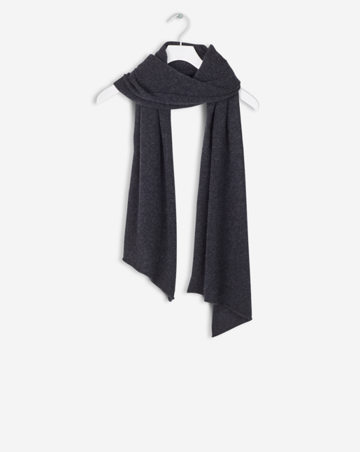 Light Cashmere Scarf Antracite