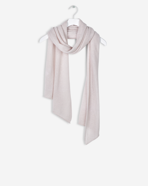Light Cashmere Scarf Light Blush