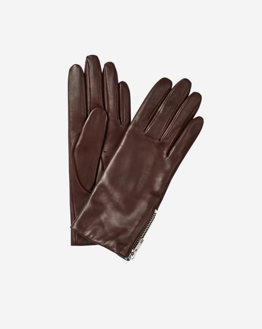 Zip Glove Bordeaux