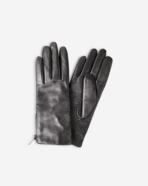 Zip Glove Gun Metal