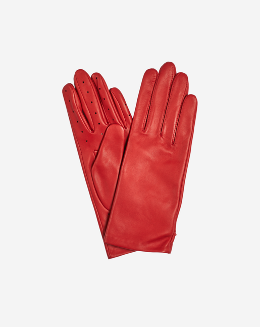 Perforated Glove Poppy