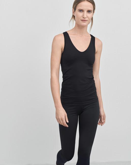 Yoga Tank Black