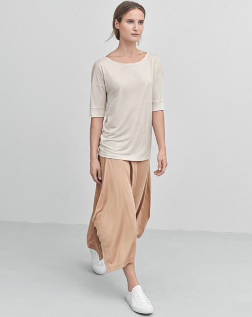Tencel Top Oyster