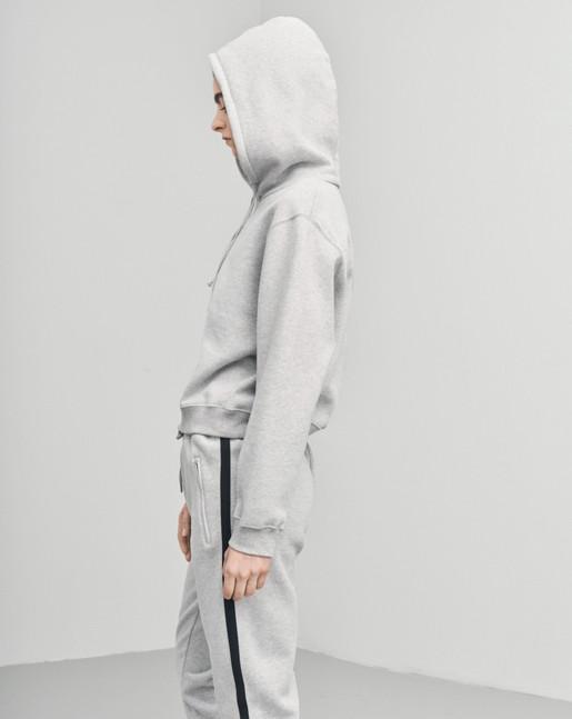 Brushed Hoodie Grey