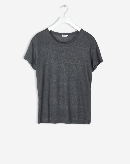 Linen T-shirt Rock