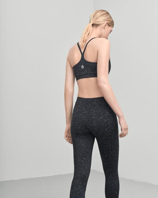 Printed Yoga Bra Top