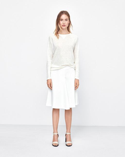 Linen Sweatshirt Tee Navajo