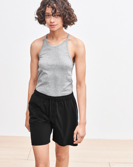 Strap Cotton Tank Light Grey