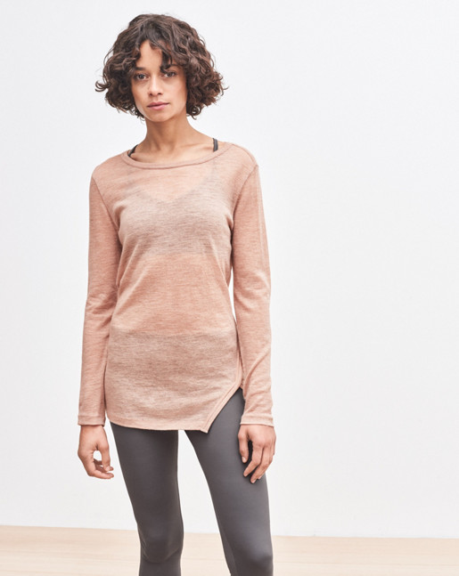 Sheer Warm-up Top