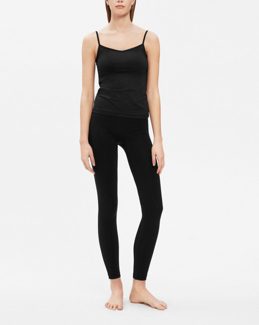 Soft Strap Top Black