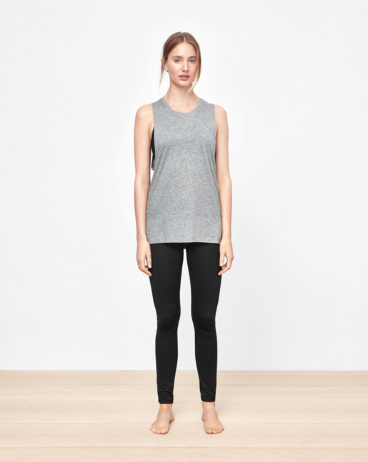 Loose Gym Tank Grey