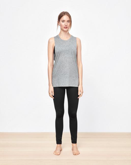 Loose Gym Tank Grey