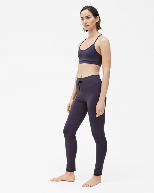 Yoga Bra Top Liquorice