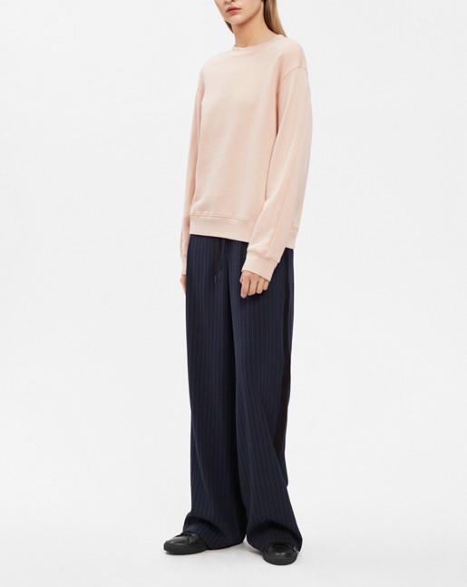 Drapey Sweatshirt Blush