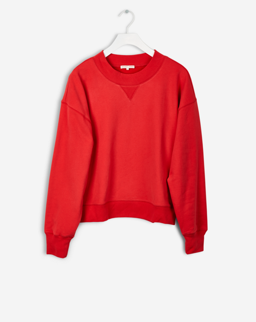 Sweat Shirt Scarlet