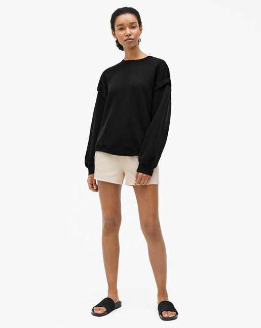 Relaxed Felpa Sweater Black