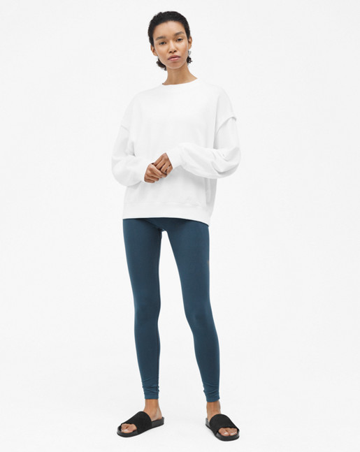 Relaxed Felpa Sweater White