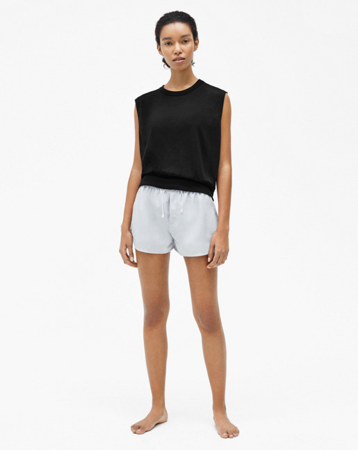 Cool-down Top Black