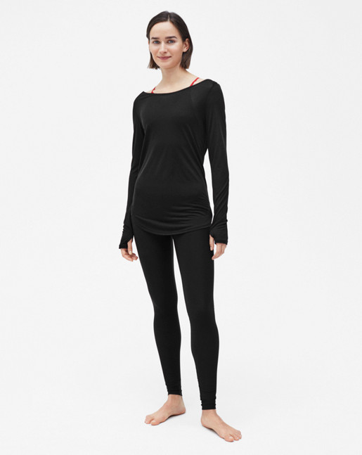 Warm-up Top Black