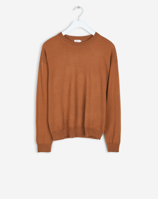 Merino R-neck Pullover Autumn