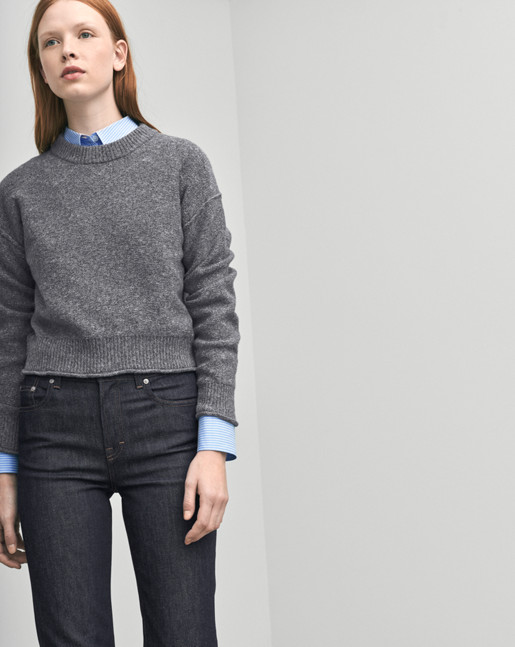 Cropped Pullover Cloud