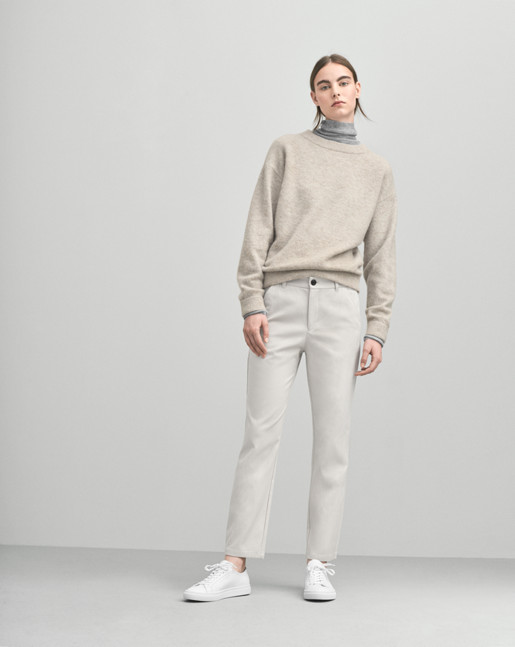 Cozy Wool Pullover Dove