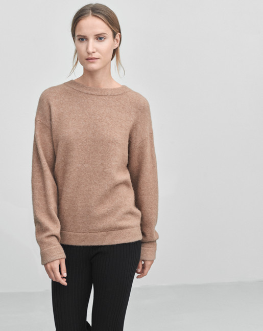 Cozy Wool Pullover Nougat