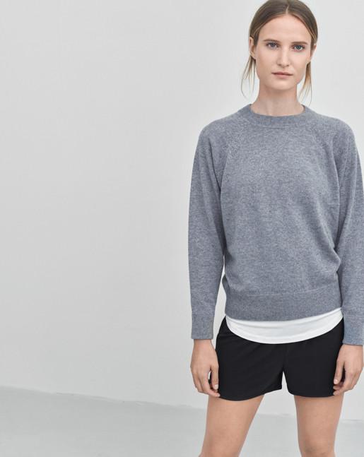 Cashmere Sweat Grey