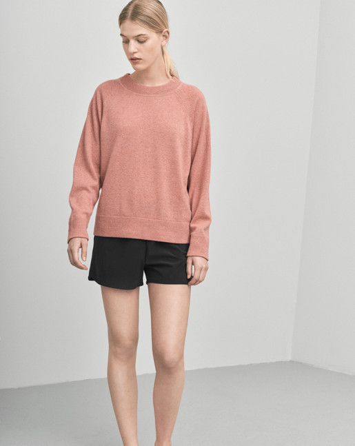 Cashmere Sweat Rosewood