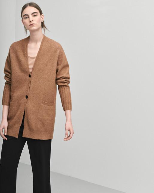 Cozy Wool Cardi Nougat