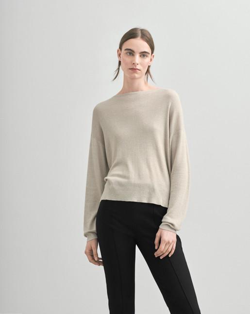 Lurex Sweater Gold