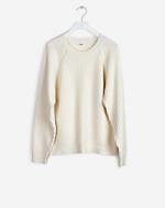 Rib Cotton Wool Pullover Navajo