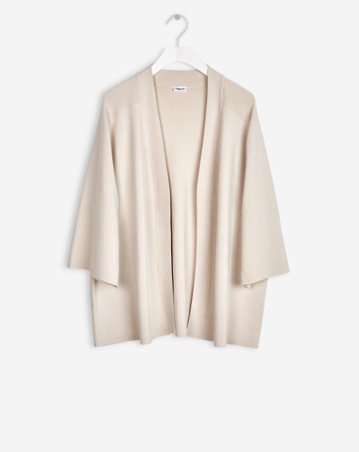 Sharp Kimono Jacket Chiffon