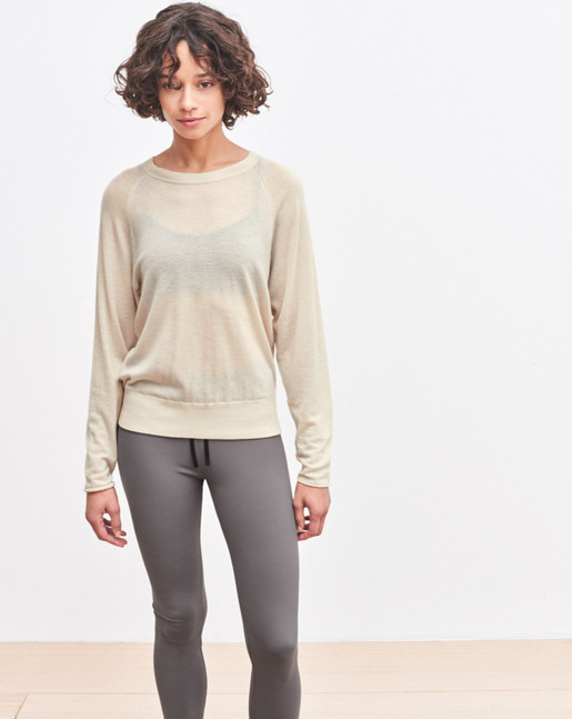 Cash Air Sweater Chiffon