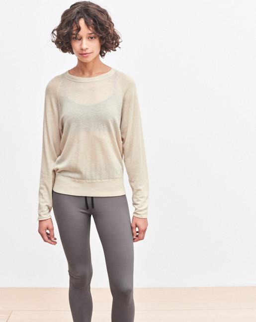 Cash Air Sweater Chiffon